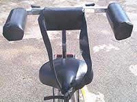 silver backrest
